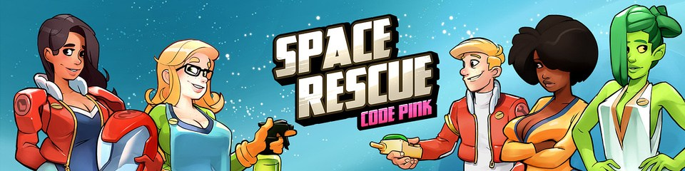 Space Rescue: Code Pink Banner